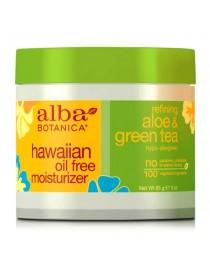 Krem nawilżający Aloes i Zielona Herbata – Alba Botanica