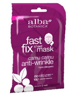 Przeciwzmarszczkowa maska w płachcie Camu Camu – Alba Botanica