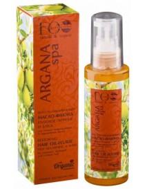 Olej - fluid do włosów zniszczonych i farbowanych – Argan SPA – Ecolab