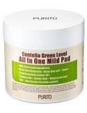 Płatki tonizujące do twarzy Centella Green Level All In One Mild Pad - PURITO
