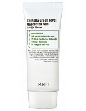 Krem do twarzy Centella Green Level Unscented Sun - PURITO