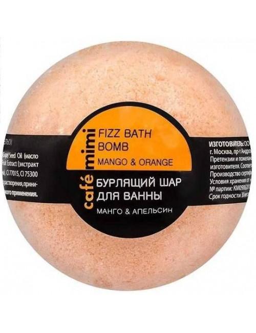 Musująca kula do kąpieli – Mango i Pomarańcza – Cafe Mimi