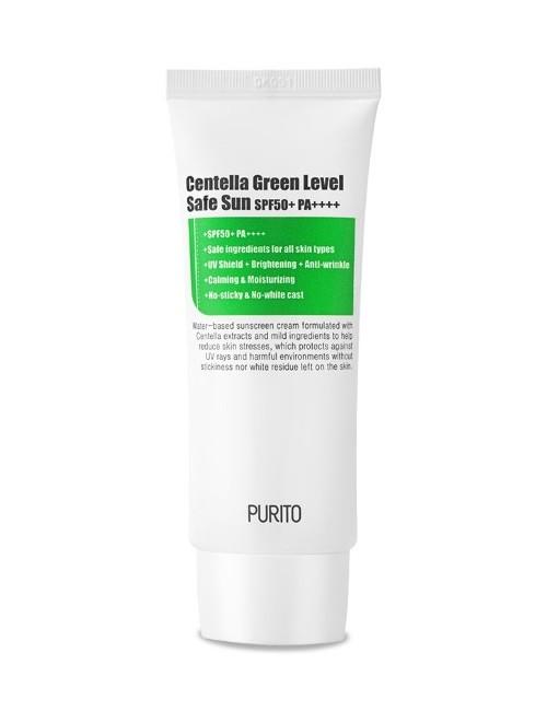 Przeciwsłoneczny krem Centella Green Level Safe Sun SPF50+ - PURITO