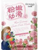 Maska w płacie z ekstraktem z róży – BIOAQUA