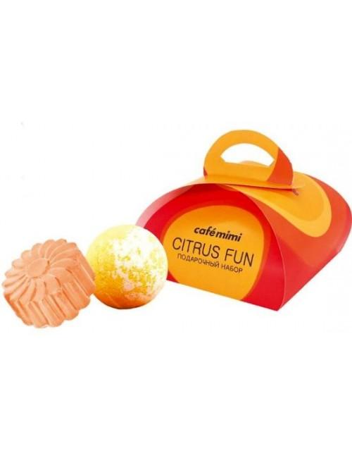 Zestaw kosmetyków do kąpieli Citrus Fun – Cafe Mimi