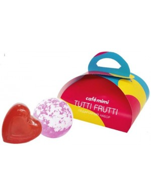 Zestaw kosmetyków do kąpieli Tutti Frutti – Cafe Mimi