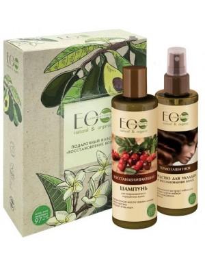 Zestaw upominkowy kosmetyków do regeneracji włosów – Ecolab
