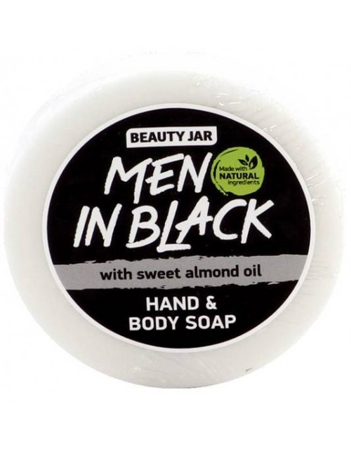 Mydło do ciała i rąk Men in Black – Beauty Jar