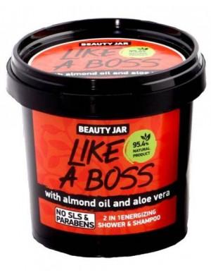 Energetyzujący żel pod prysznic i szampon 2w1 Like A Boss – Beauty Jar
