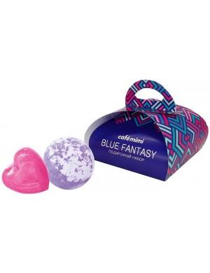Zestaw kosmetyków do kąpieli Blue Fantasy – Cafe Mimi