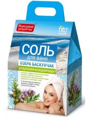 Antycellulitowa Sól do kąpieli z Jeziora Baskunczak - Fitokosmetik