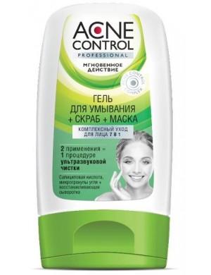 Żel + scrub + maska do cery trądzikowej 7w1 – Acne Control