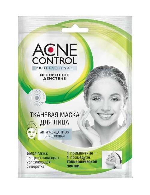 Oczyszczająca maska w płacie do cery trądzikowej – Acne Control