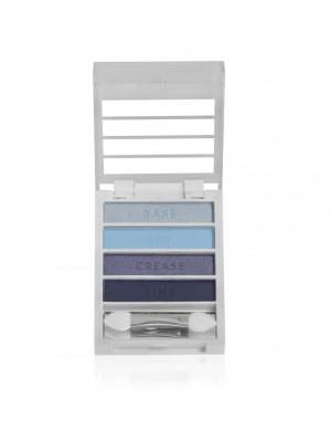 Paleta niebieskich cieni do oczu - e.l.f. Flawless Eyeshadows