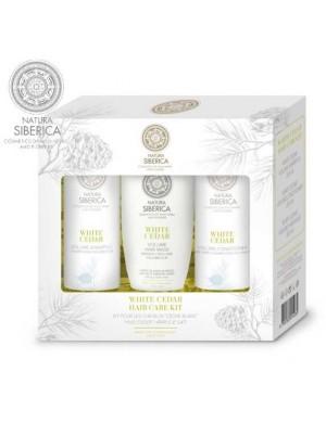 Zestaw kosmetyków na objętość włosów White Cedar – Natura Siberica