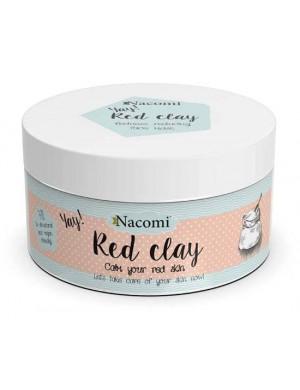 Nacomi Naturalna glinka czerwona kosmetyczna