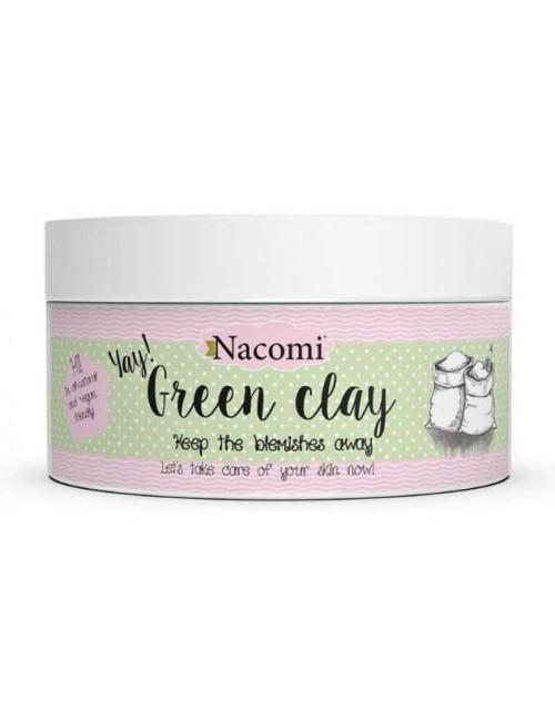 Nacomi Naturalna glinka zielona do twarzy