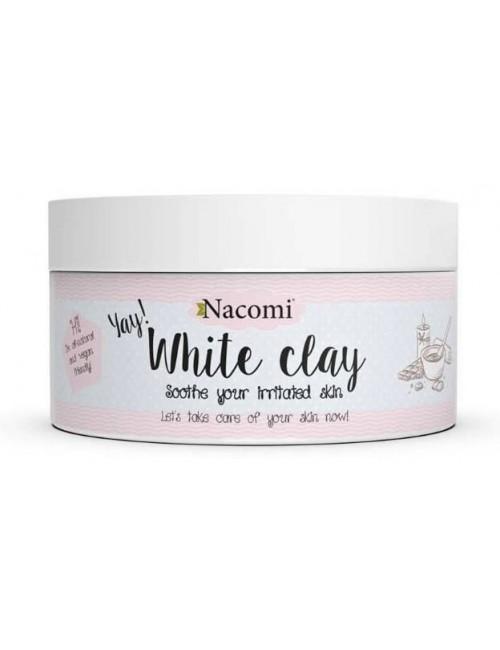Nacomi Naturalna glinka biała - kaolin