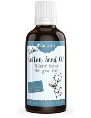 Nacomi Czysty olej z nasion bawełny - Regeneracja & Nawilżenie