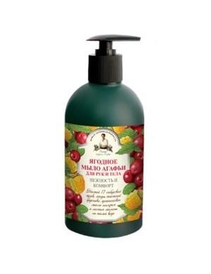 Owocowe mydło w płynie do rąk i ciała – Receptury Agafii