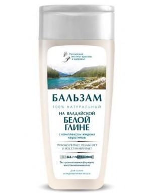 Balsam do włosów z białą glinką i keratyną – Fitokosmetik