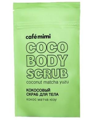 Kokosowy scrub do ciała Matcha i Yuzu – Cafe Mimi