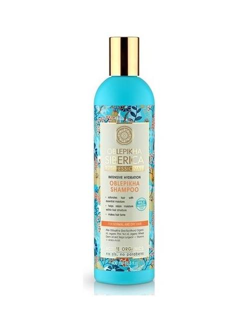 Intensywnie nawilżający szampon rokitnikowy – Natura Siberica