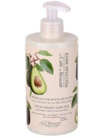 Regeneracyjne mydło - krem do rąk Avocado i Herbata – Kafe Krasoty