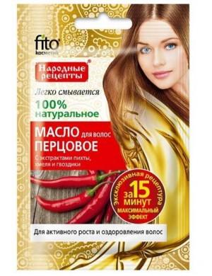 Pieprzowy olej stymulujący porost włosów – Fitokosmetik