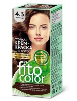Farba do włosów bez amoniaku 4.3 Czekolada – Fito Color