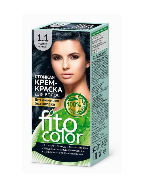 Farba do włosów bez amoniaku 1.1 Niebieski Czarny – Fito Color