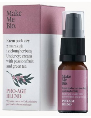 Krem pod Oczy z Marakują i Zieloną Herbatą Pro-Age - Make Me Bio