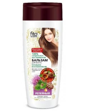 Łopianowy balsam do suchych włosów – Fitokosmetik