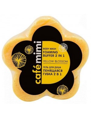 Gąbka z żelem pod prysznic 2w1 Blossom – Cafe Mimi