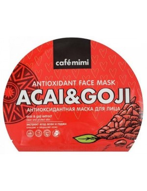 Witaminowa maska w płacie Acai i Goji – Cafe Mimi