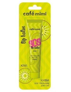 Odżywczy balsam do ust z olejkami SOS Kiwi – Cafe Mimi