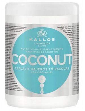 Wzmacniająca maska kokosowa do włosów Coconut – Kallos