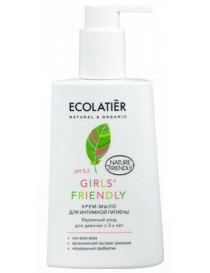 Krem - mydło do higieny intymnej dla dzieci Girls' Friendly – ECOLATIER