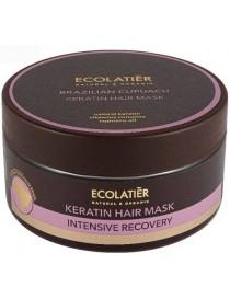 Keratynowa maska do włosów Intensywna Regeneracja – ECOLATIER