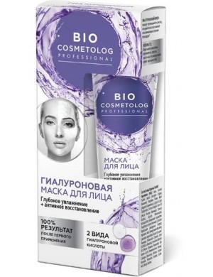 Hialuronowy krem - maska do twarzy Głębokie nawilżenie – Bio Cosmetolog