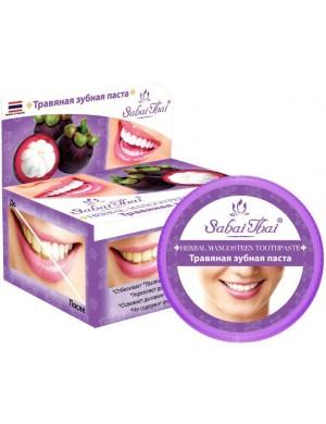 Naturalna pasta do zębów Mangostan – Sabai Thai