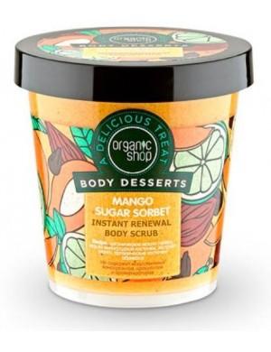 Odnawiający scrub do ciała Sorbet Mango – Organic Shop