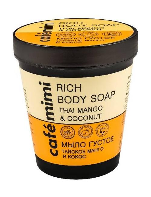 Tajskie mydło do ciała Mango i Kokos – Cafe Mimi