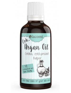 Nacomi Zimnotłoczony kosmetyczny olej arganowy - Eliksir Młodości