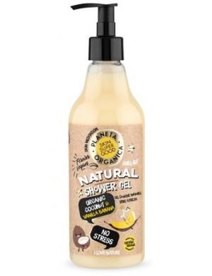 Naturalny Żel pod prysznic Kokos i Banan – Planeta Organica