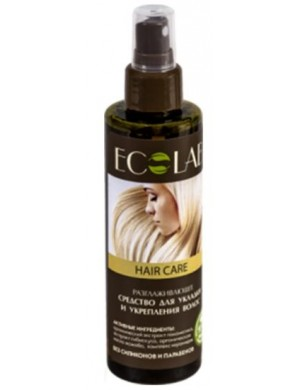 Wzmacniający spray wygładzający do układania włosów – Ecolab