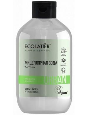 Woda micelarna do demakijażu cery tłustej – ECOLATIER Urban