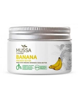 Masło do ciała ekstraktem z bananów kanaryjskich – Mussa Canaria