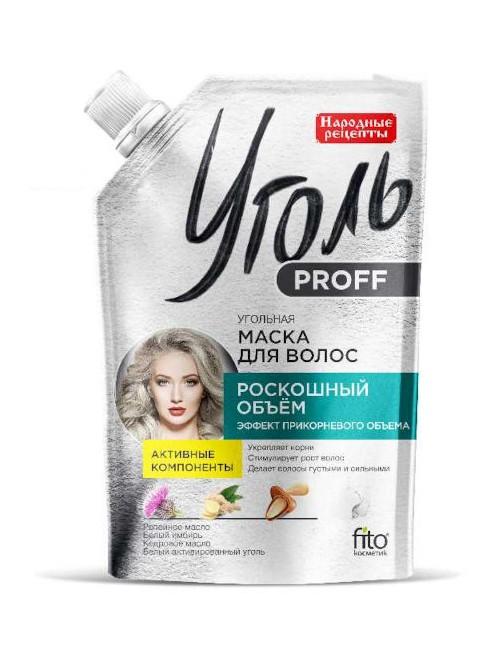 Maska na porost i objętość włosów Ugoł Proff – Fitokosmetik