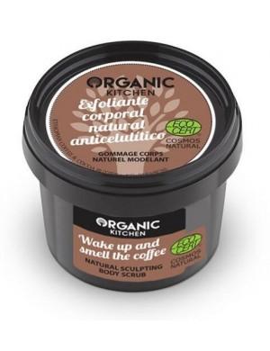 Modelujący scrub kawowy do ciała – Organic Kitchen